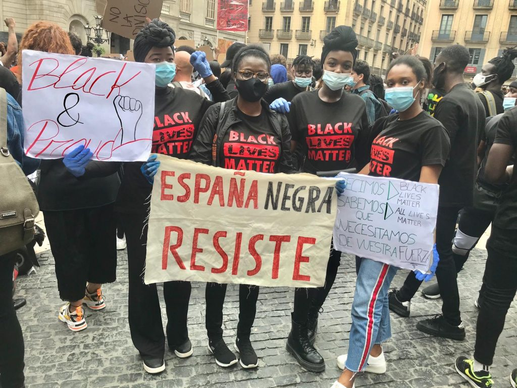 Concentration in Solidarity  Black Lives Matter