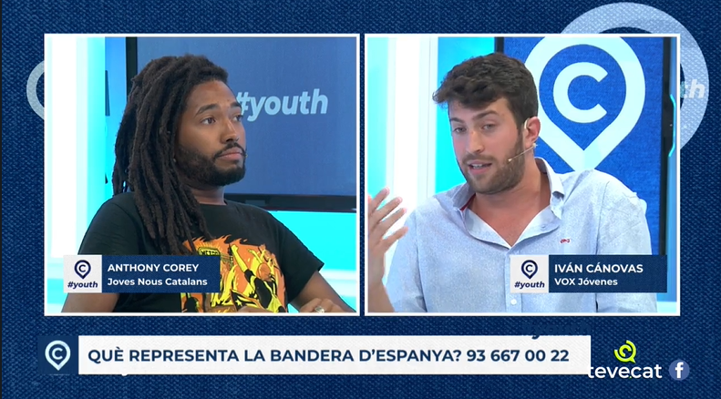 AfroCatalan debates with VOX youth representative