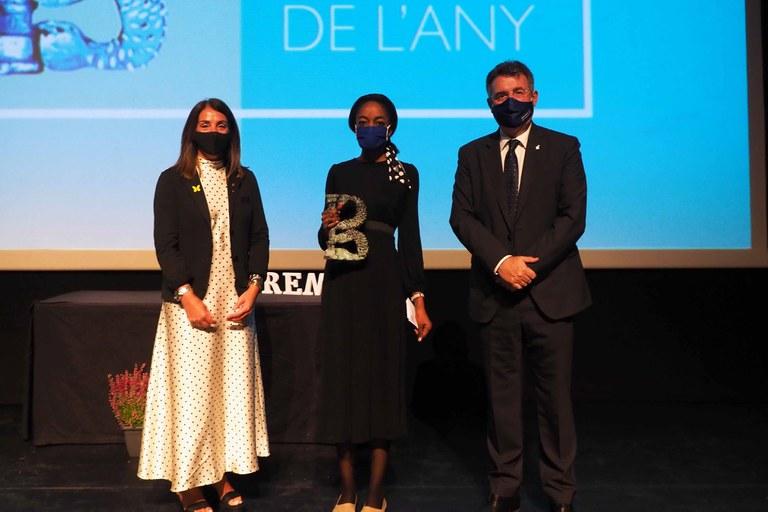 "AfroBanyolina gana premio ""Banyolí de l'Any"""